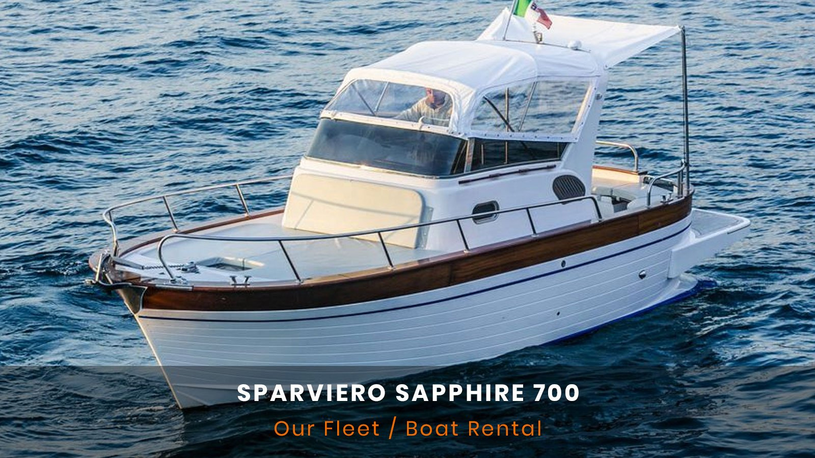Sparviero Sapphire 700 Rent Boat
