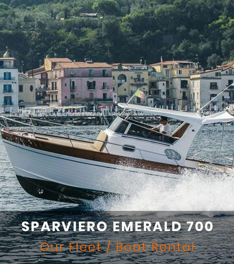 Sparviero Emerald 700 Rent Boat