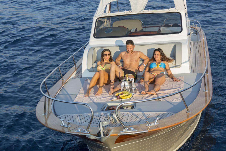 Sparviero Grey Pearl Rent Boat