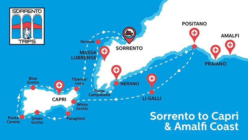 Sorrento Capri e Positano tour
