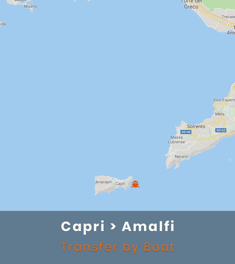 Capri Amalfi Transfer Boat