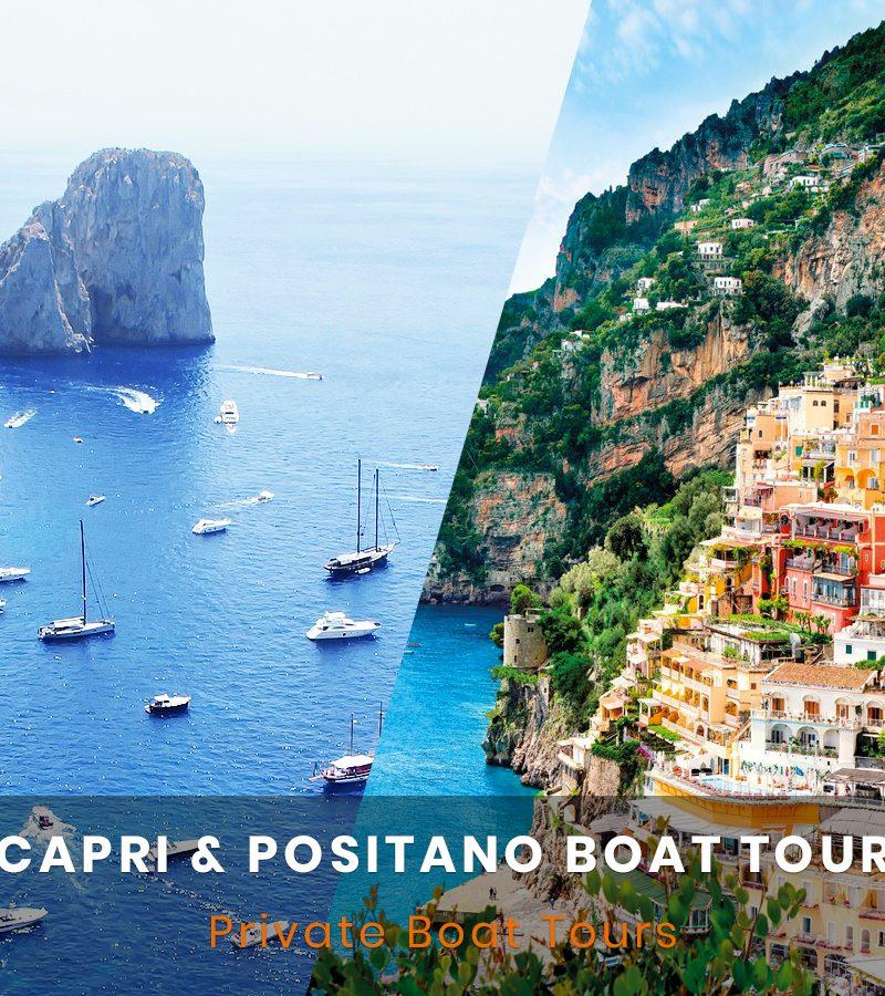 Capri Positano Boat Tour