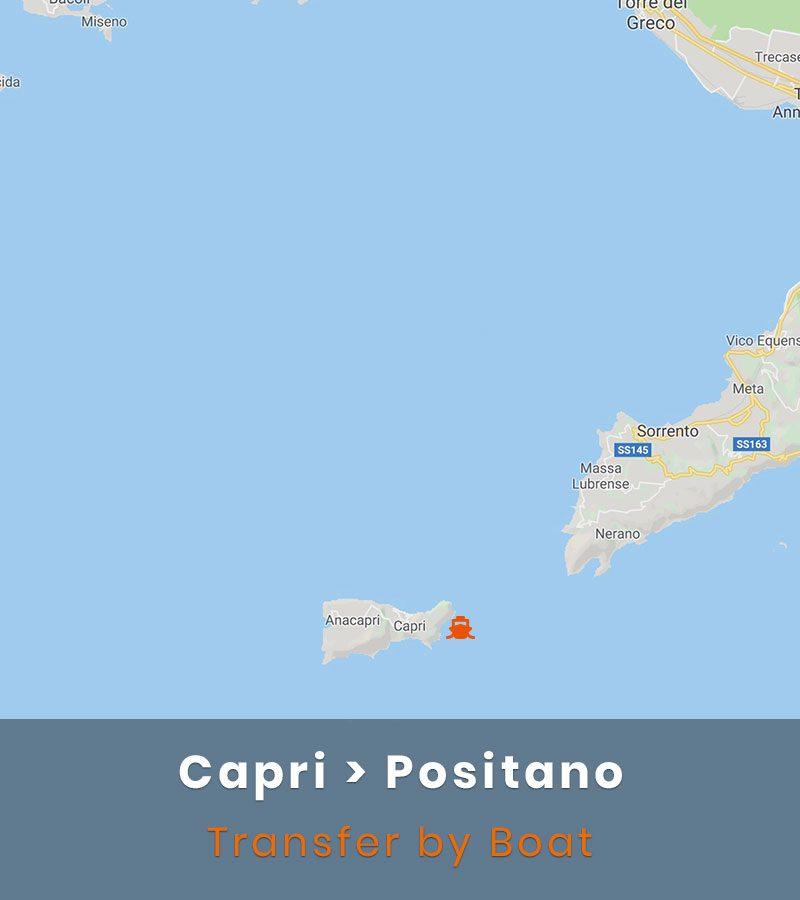 Capri Positano Transfer Boat
