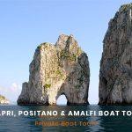 Capri, Positano e Amalfi Boat Tour