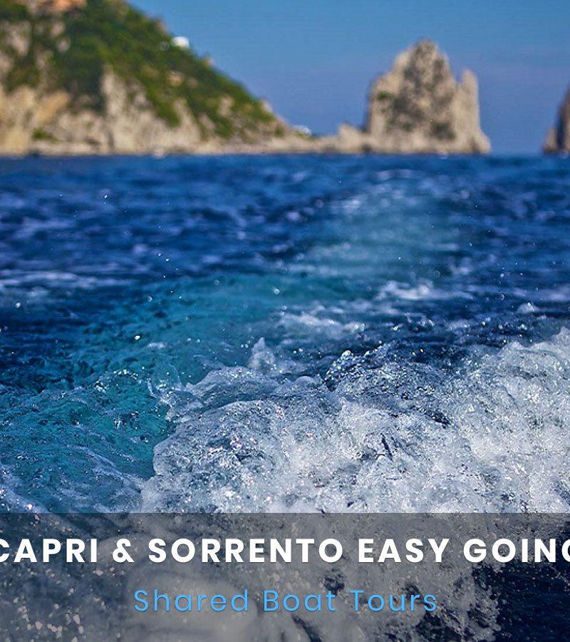 Capri e Sorrento Boat Tour