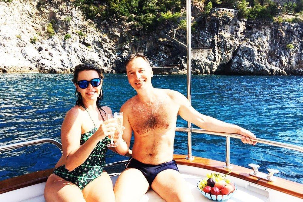 Capri Tour in barca