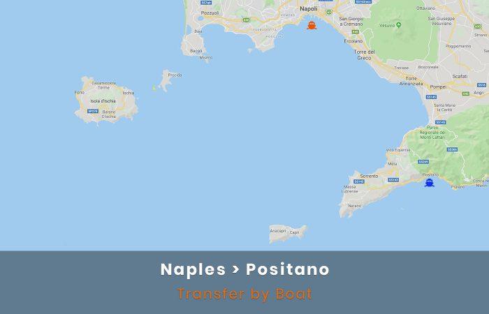 Naples Positano Transfer Boat
