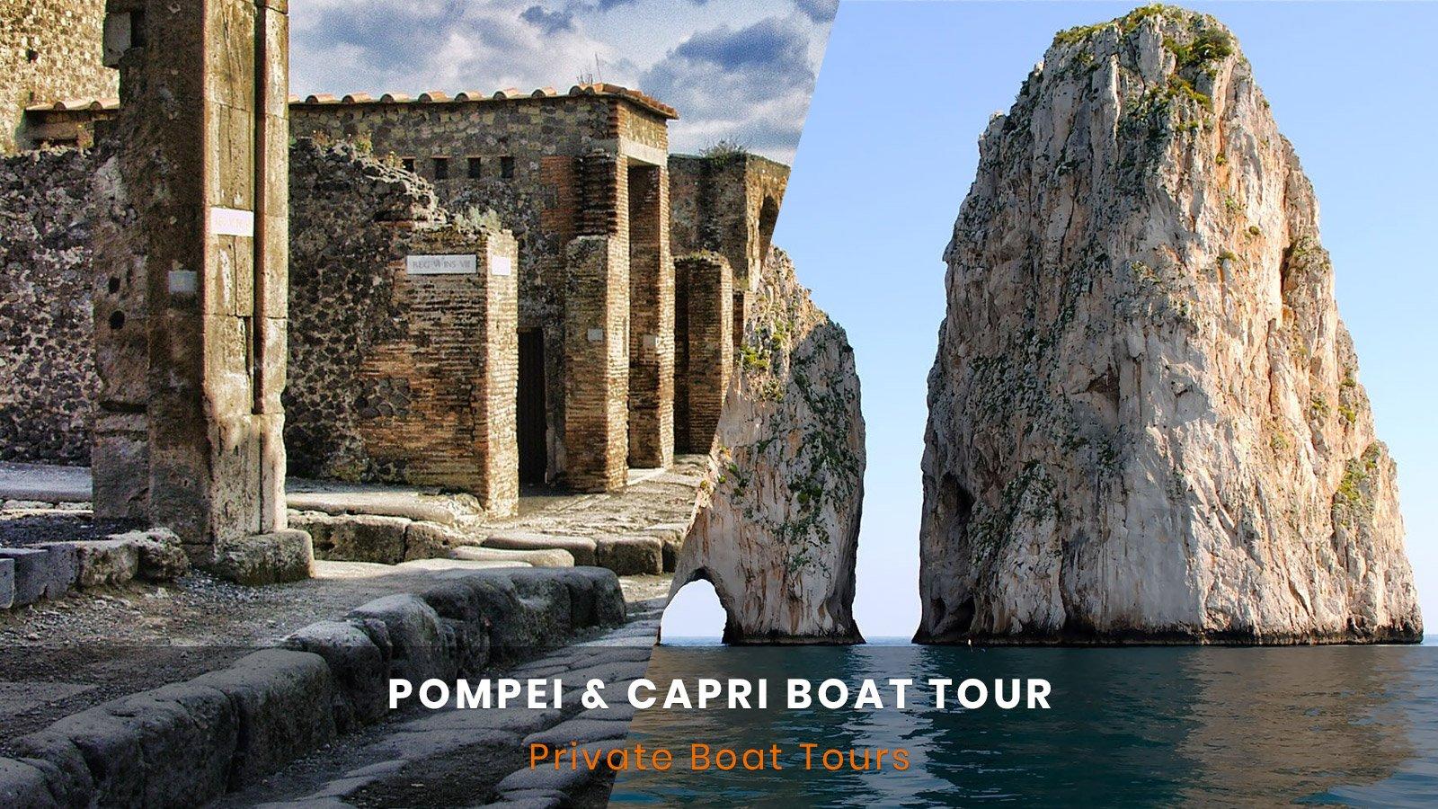 Pompeii e Capri Boat Tour