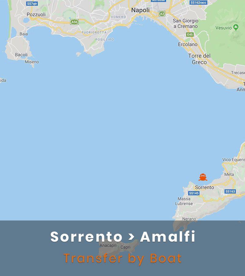 Sorrento Amalfi Transfer Boat