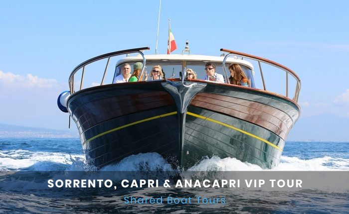 Sorrento Capri e Anacapri Boat Tour