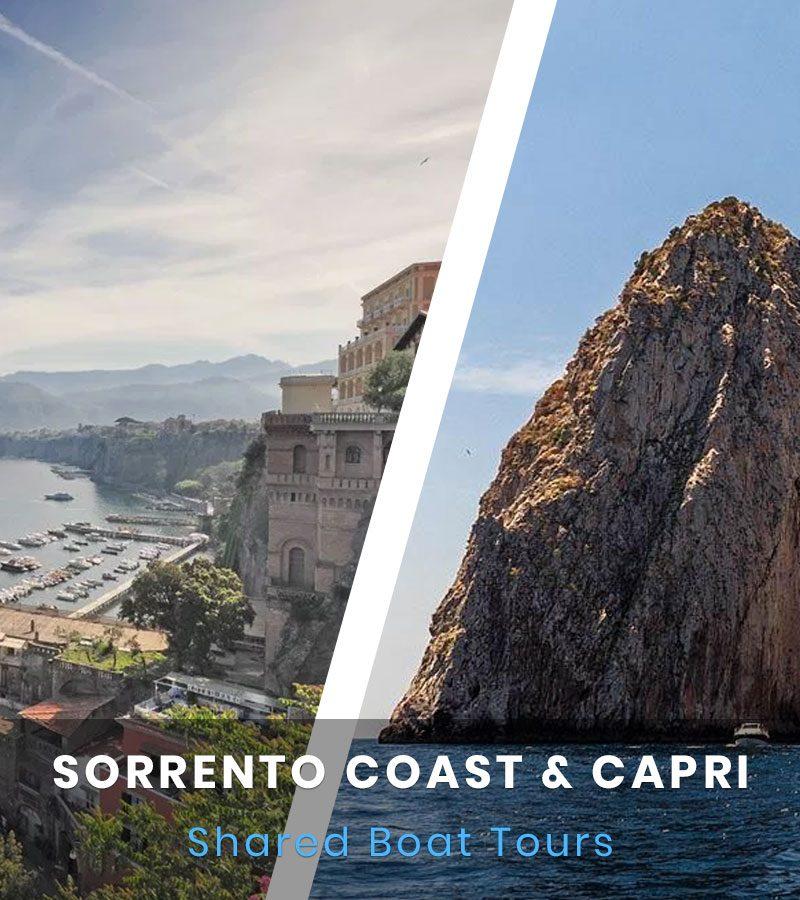 Sorrento e Capri Boat Tour