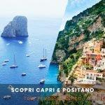Tour in barca Capri e Positano