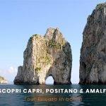Tour barca Capri Positano Amalfi