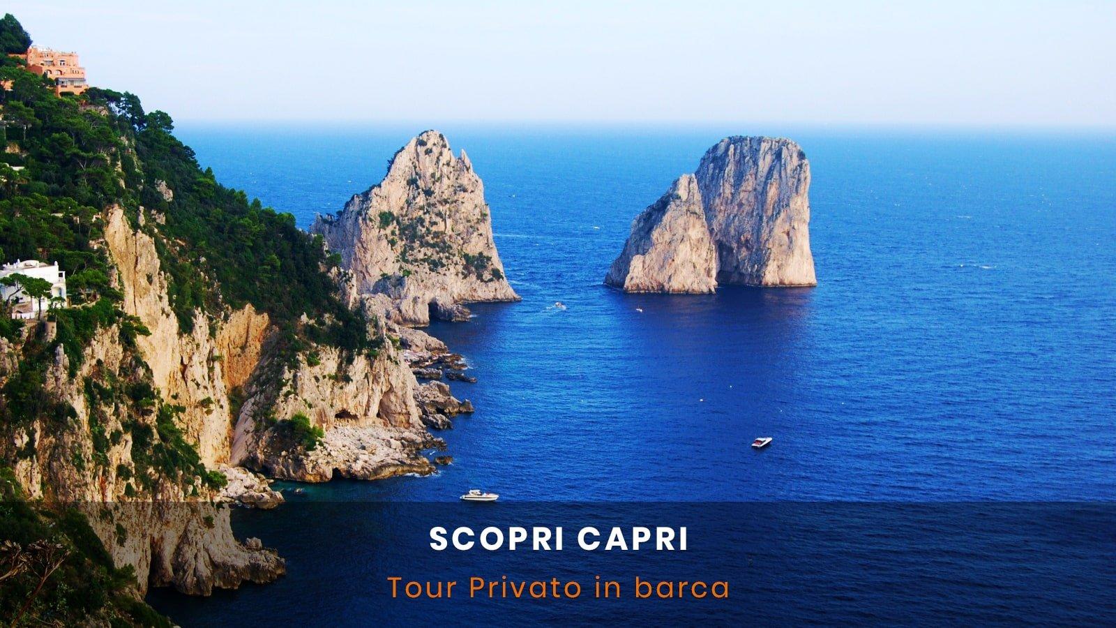 Tour in barca Capri