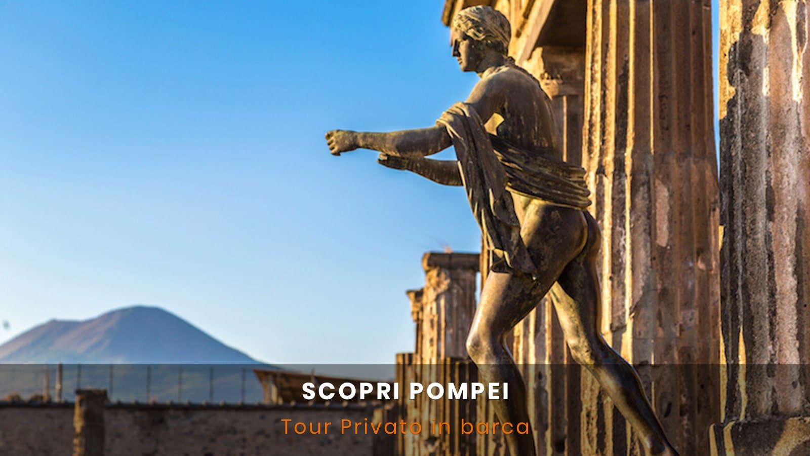 Tour in barca per Pompei