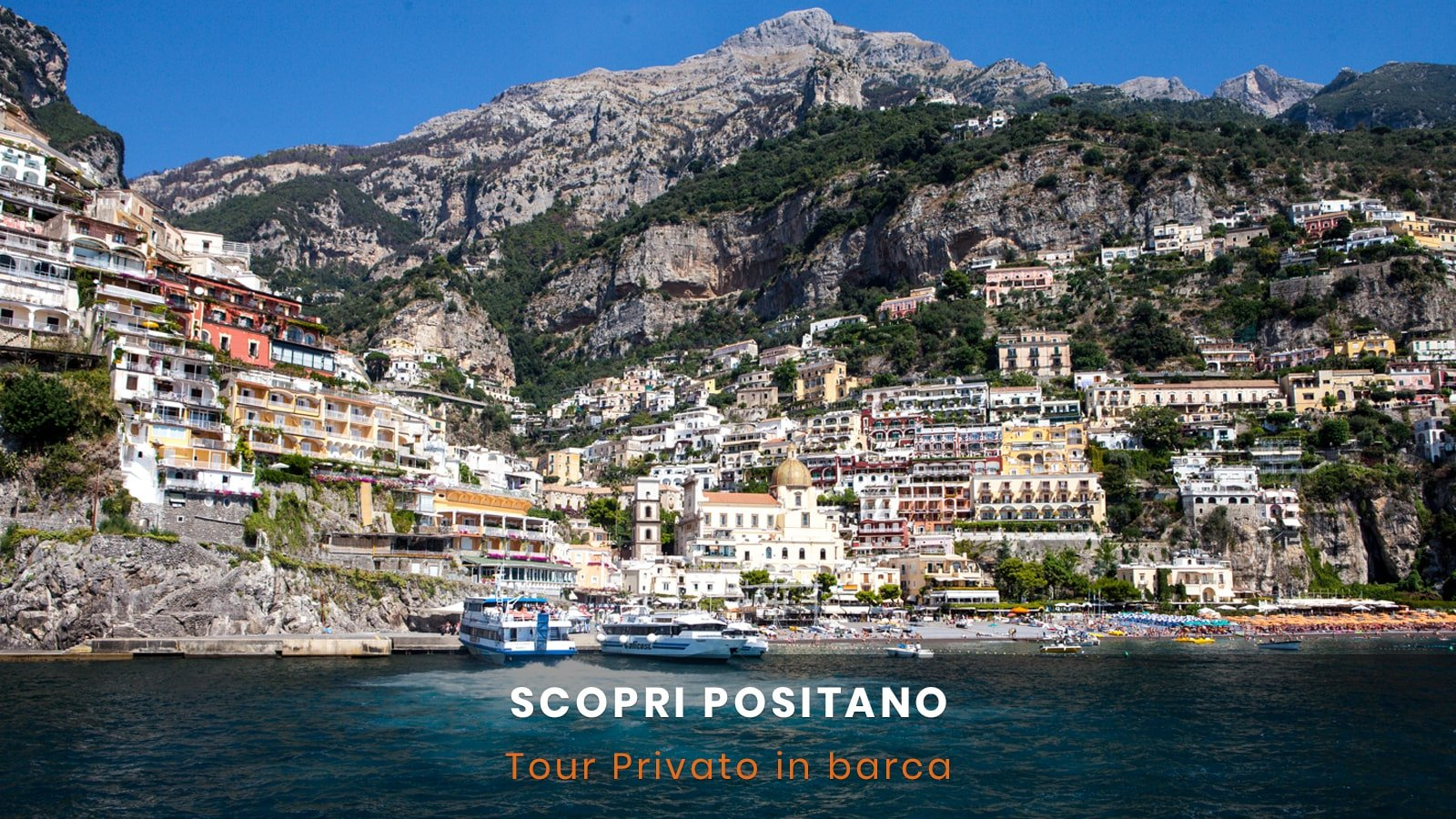 Tour in barca per Positano