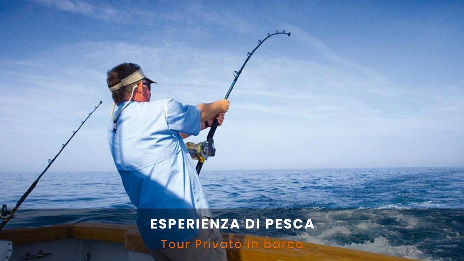 Tour pesca in barca