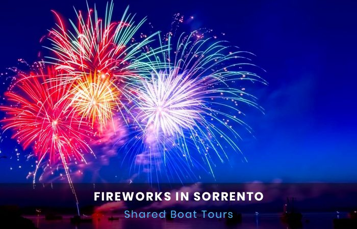 Fireworks in Sorrento