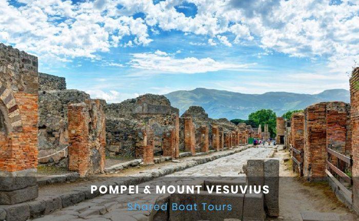 Pompeii e Vesuvius Boat Tour