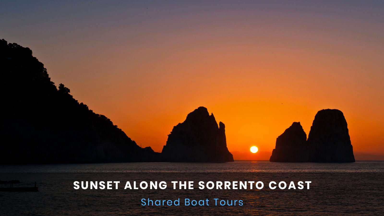 Sunset Sorrento Coast Boat Tour