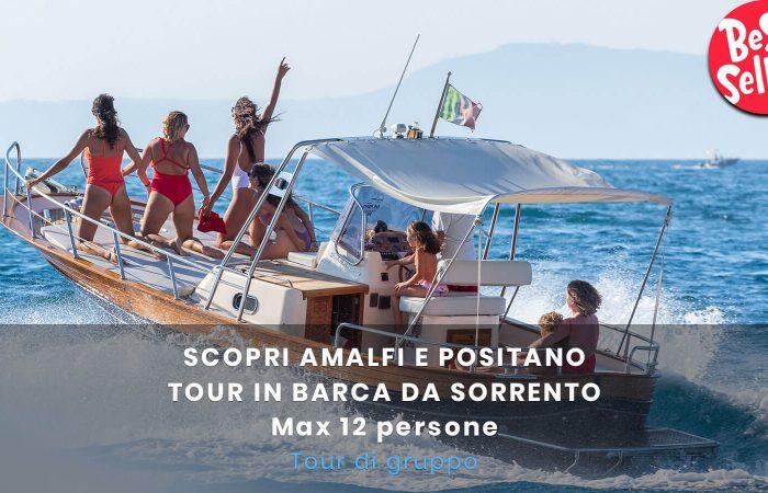 Amalfi da Sorrento 12 pax