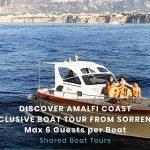 Amalfi e Positano Boat Tour - Max 6 guests per boat