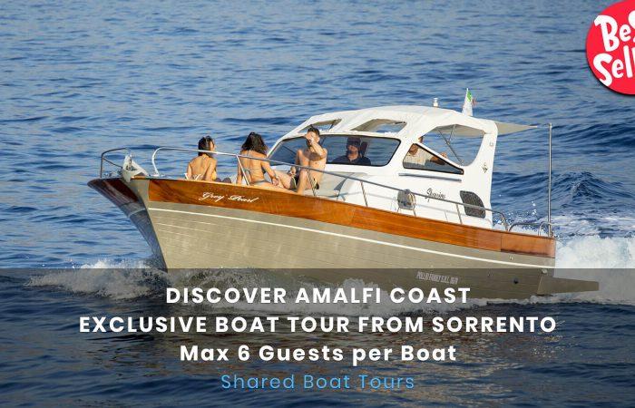 Amalfi Coast boat tour 6 pax