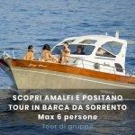 Amalfi da Sorrento 6 pax