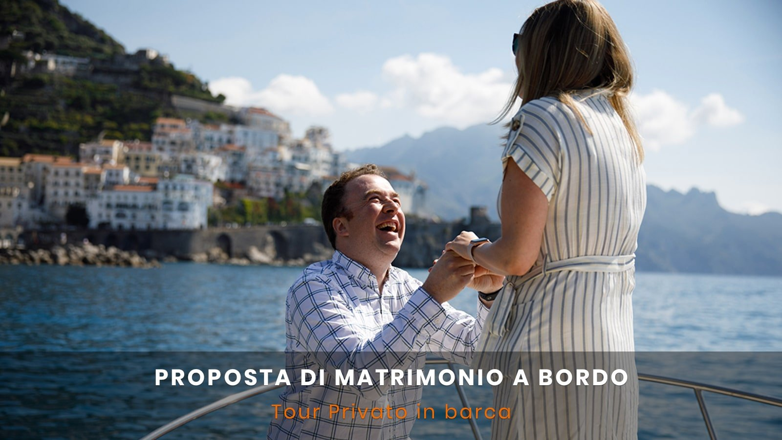 Proposta di matrimonio in barca