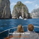 Honeymoon boat trip
