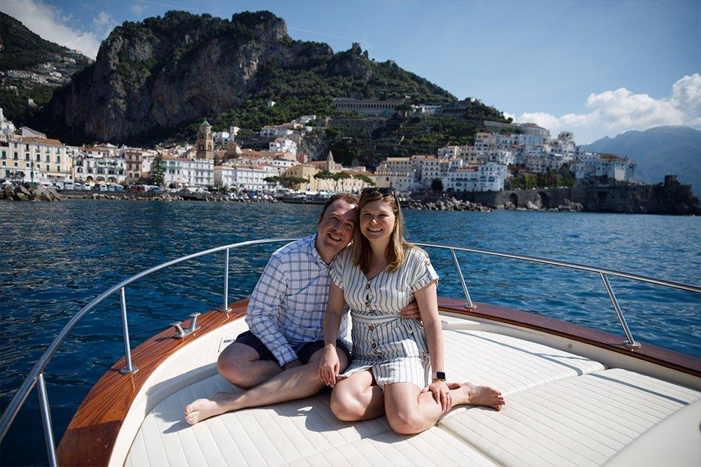 Tour in barca per Capri e Positano
