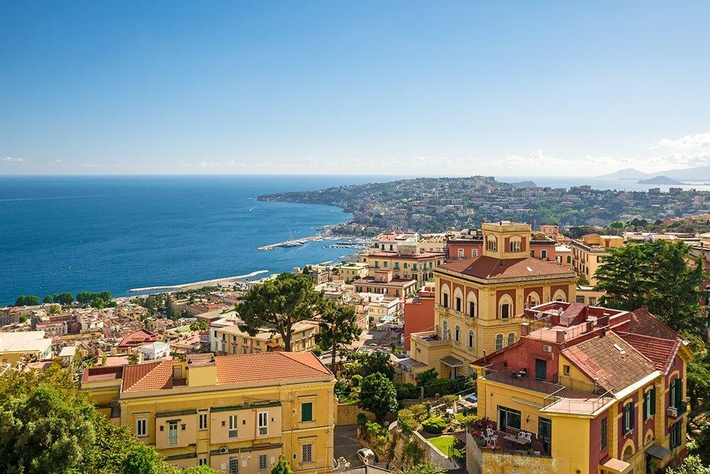 Sorrento Coast from Pompeii Ruins