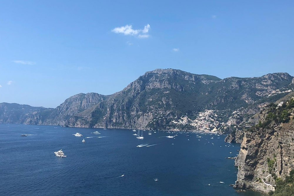Amalfi Coast Positano tour by boat