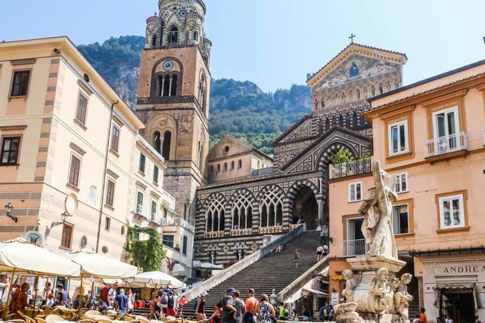 Saint Andrew Church in Amalfi