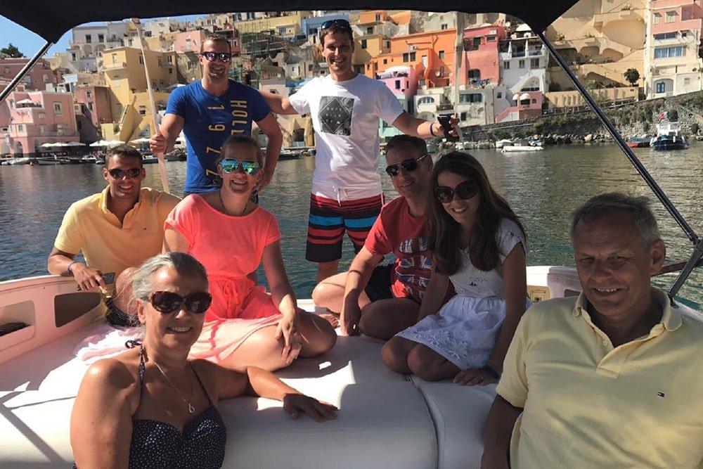 Half Day by Boat in Sorrento