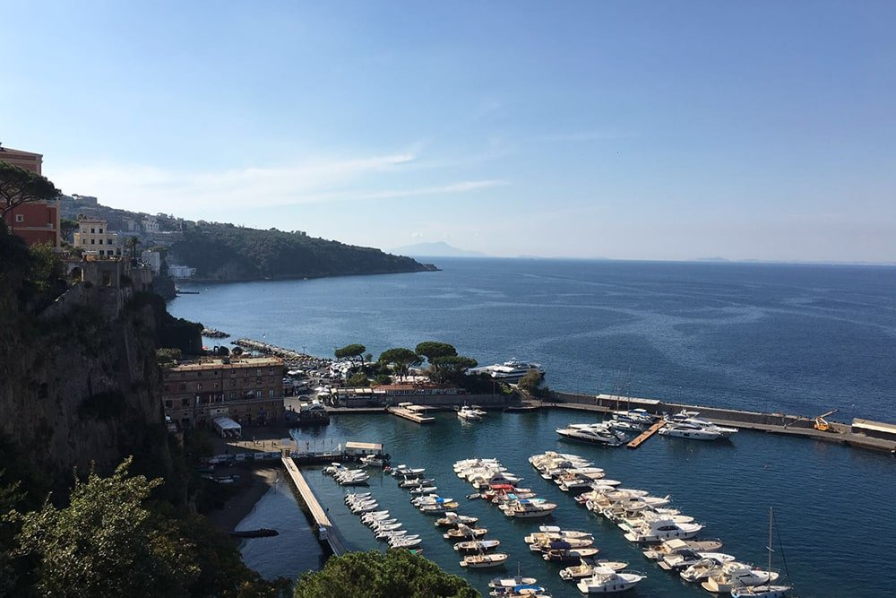 Boat Tour Sorrento 4 hours