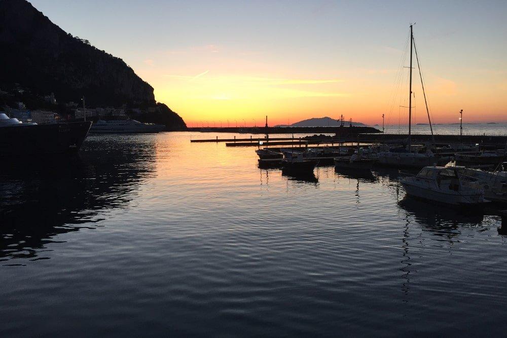 Sorrento tour in barca al tramonto