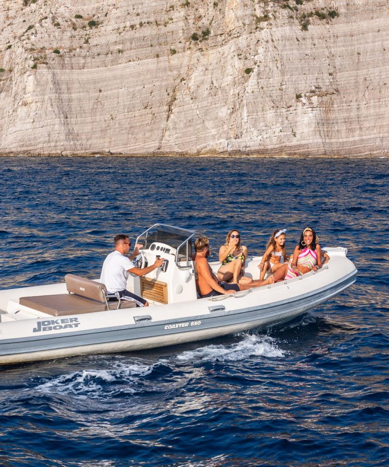 Rubberboat Sorrento Trips 19ft