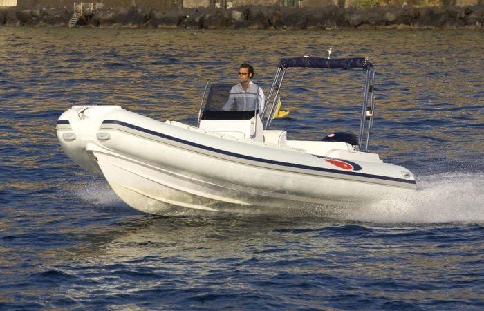 Rubberboat Selva 22 ft