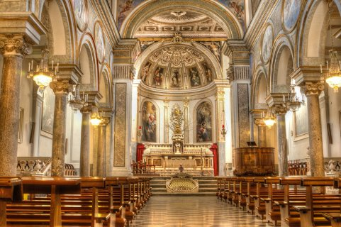 Basilica Sant'Antonino Sorrento