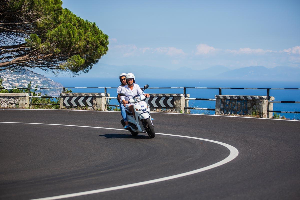 Amalfi by Scooter