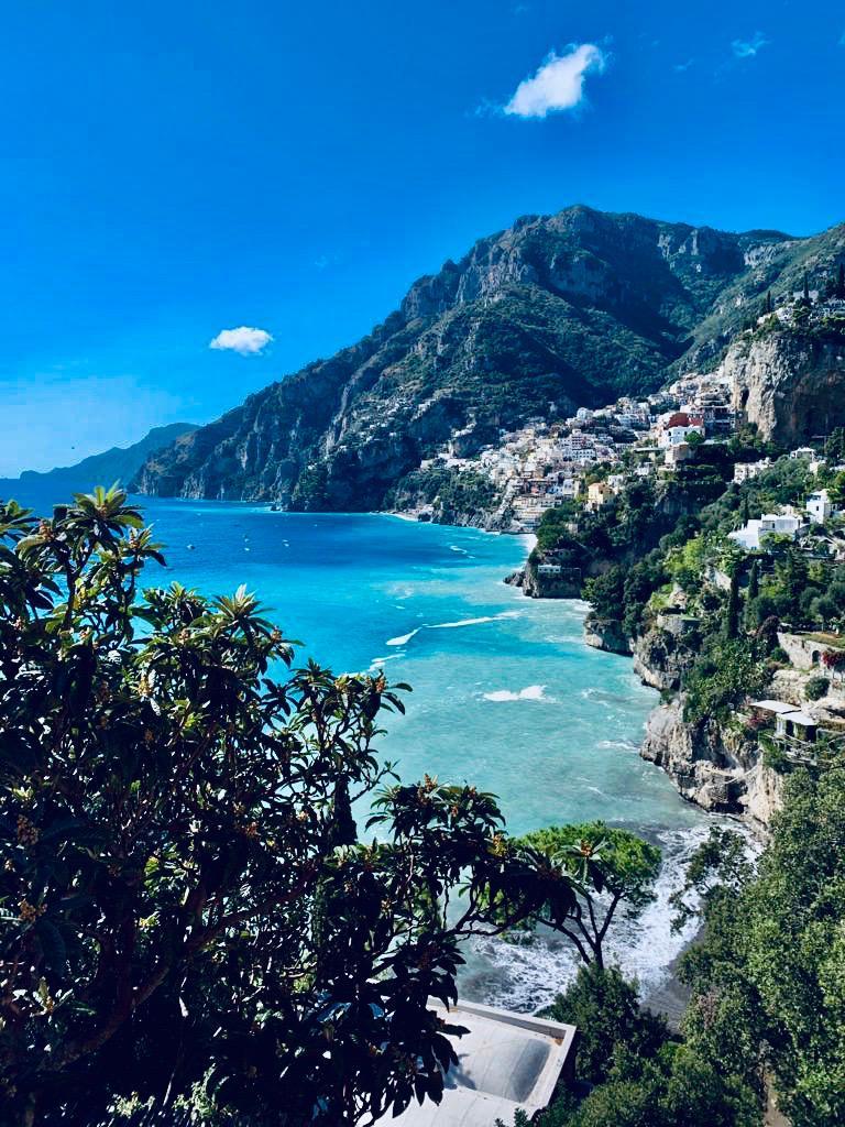 Positano view from Arienzo