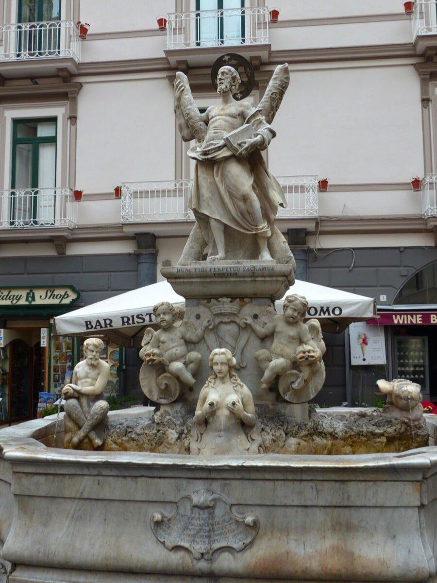 Fontana di Sant'Andrea Amalfi
