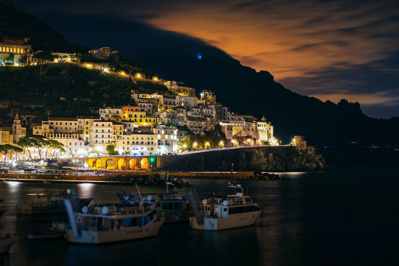 Amalfi nigthview