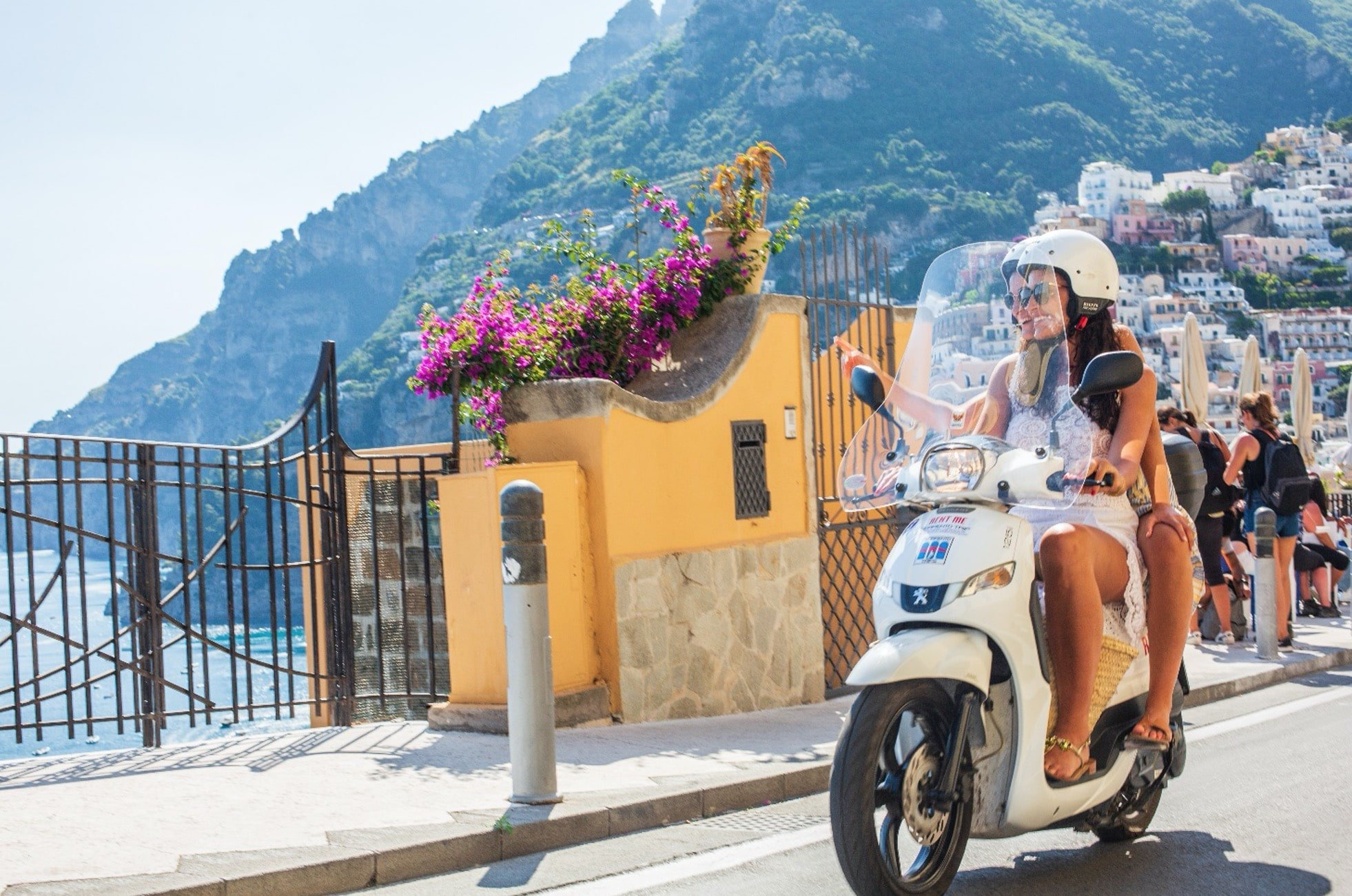 Come noleggiare scooter amalfi