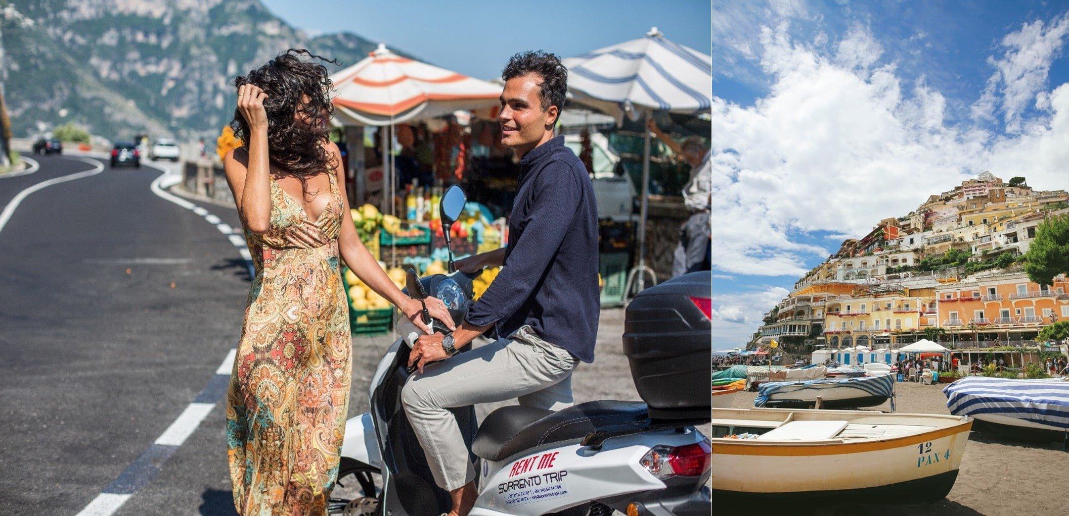 Costo noleggio scooter costiera amalfitana