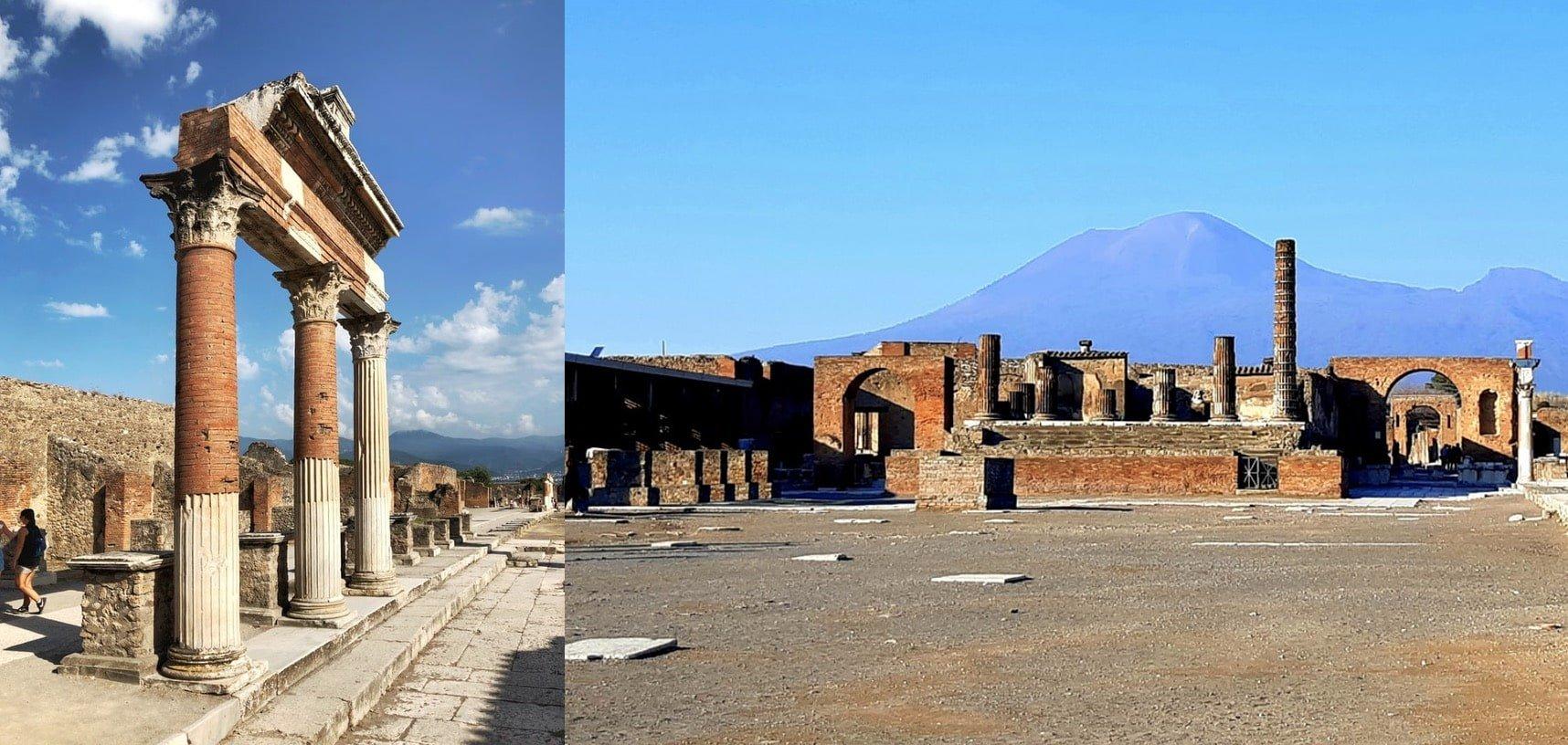 Scavi di Pompei, raggiungibili da Sorrento Amalfi e Positano