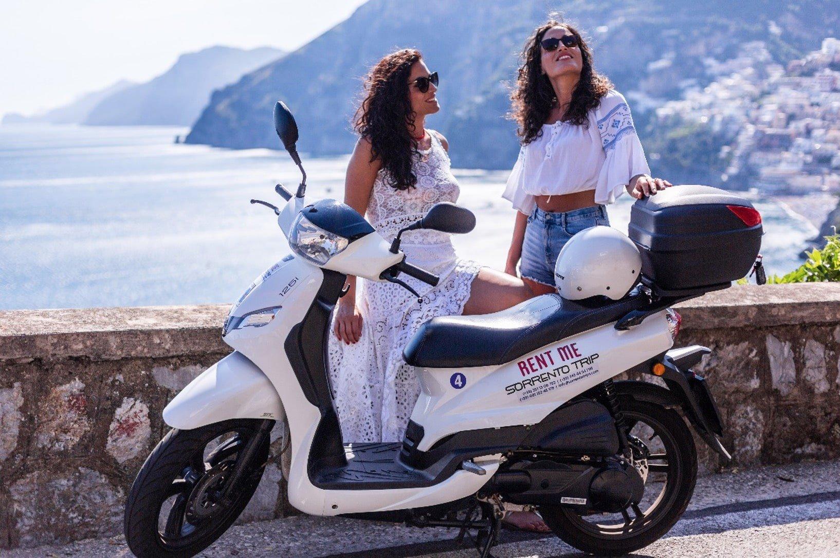 Vantaggi del noleggio scooter ad Amalfi
