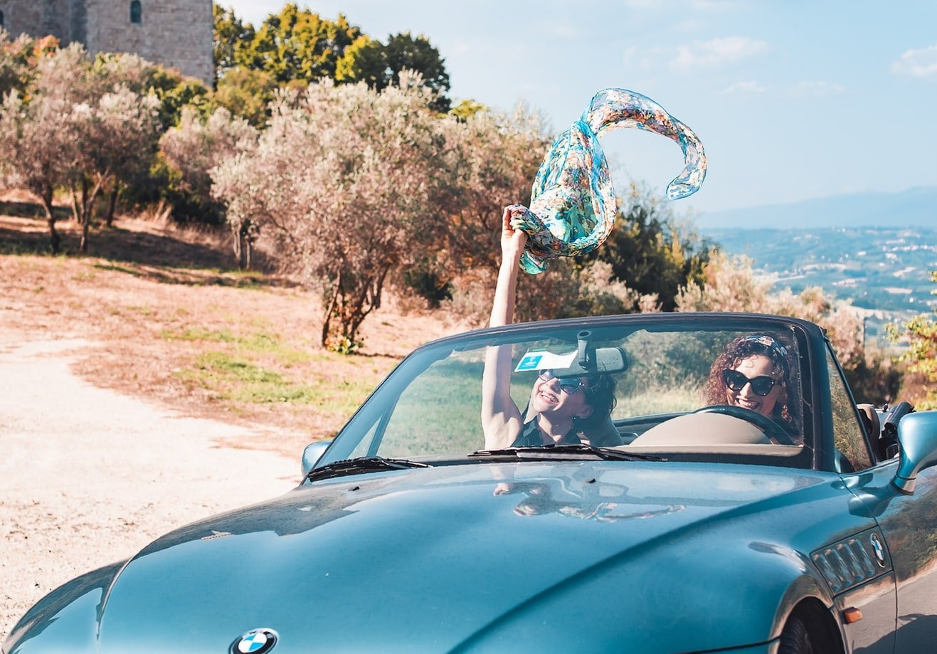 Costiera Amalfitana in auto cabriolet