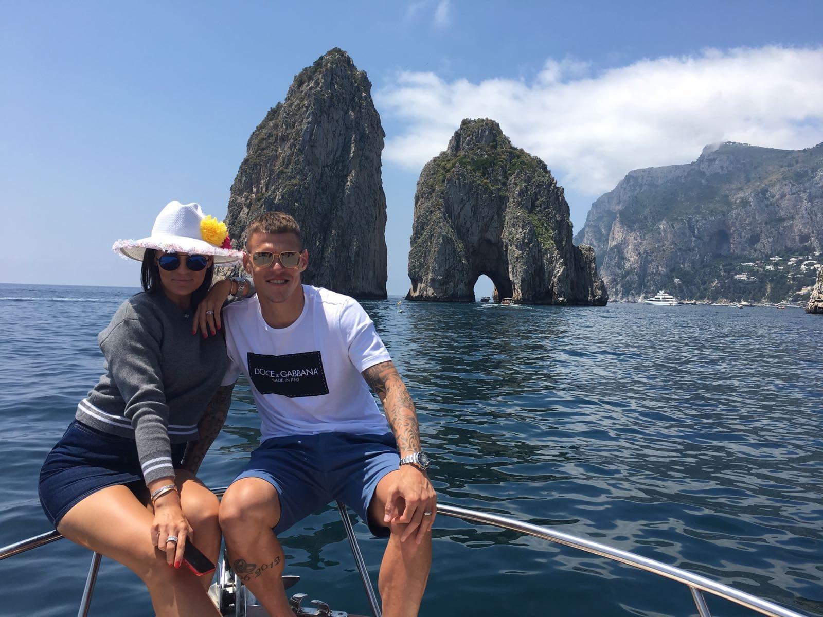 Tour privato in barca per Capri